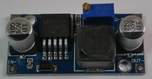 LM2596 based step down converter